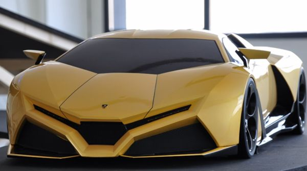 Design Student Updates The Countach Awesomely