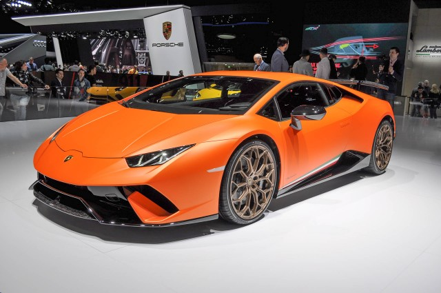 2018 lamborghini. wonderful lamborghini lamborghini huracn performante 2017 geneva auto show throughout 2018 lamborghini n