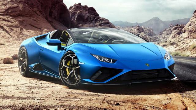 Lamborghini Huracan Evo Spyder Penggerak Roda Belakang