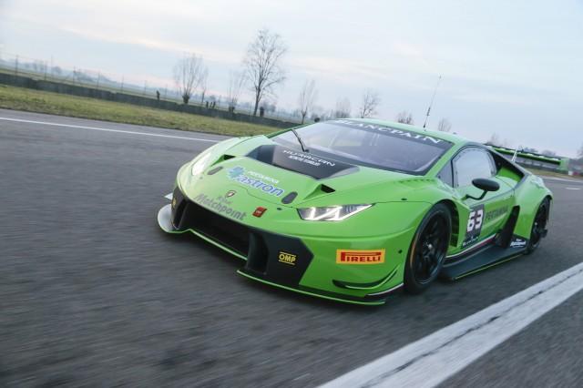 Lamborghini Huracán GT3 race car