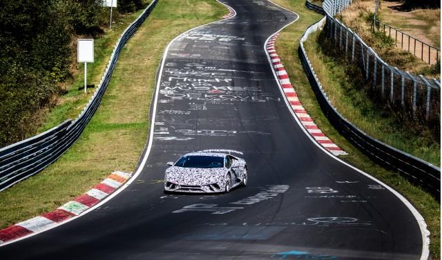 Lamborghini Huracán Performante at the Nürburgring