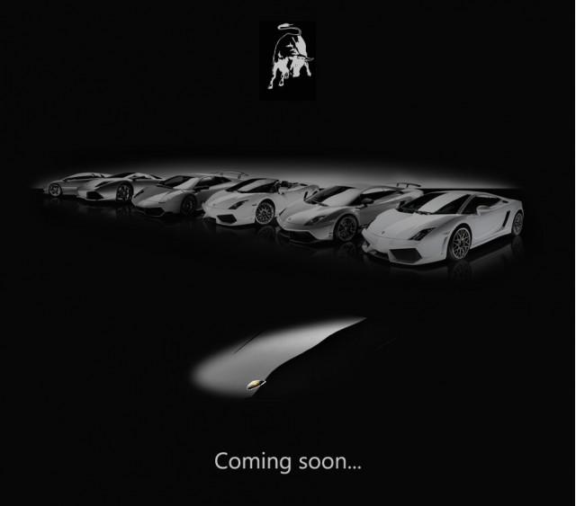 Lamborghini Jota teaser image