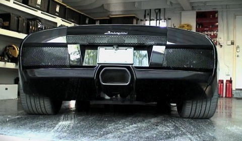 Lamborghini Murcielago Revs At 142 Decibels Video