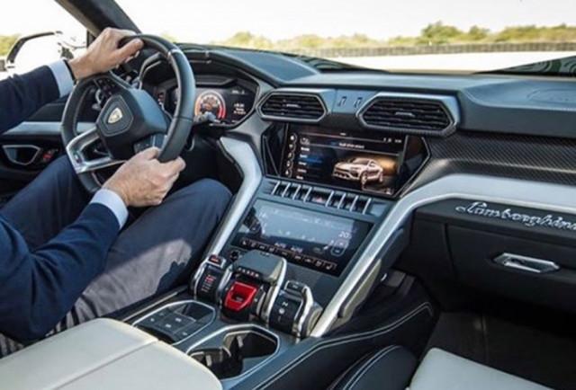 Lamborghini suv interior