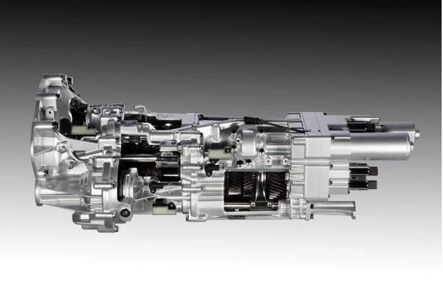 Lamborghini Aventador's ISR transmission