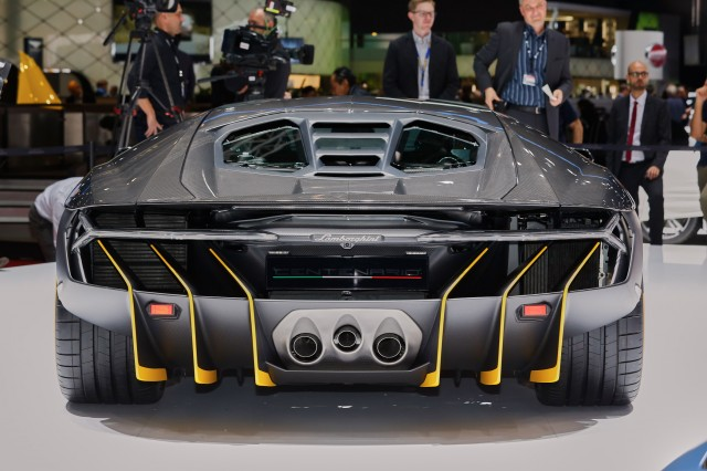 Lamborghini Centenario, 2016 Geneva Motor Show