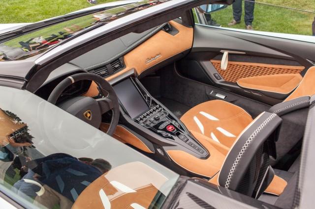 2018 lamborghini centenario interior. simple 2018 lamborghini centenario roadster 2016 monterey car week in 2018 lamborghini centenario interior f