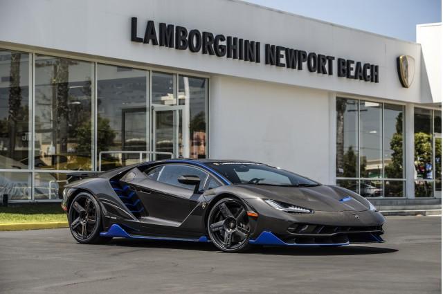 First Us Spec Lamborghini Centenario Arrives In Newport Beach