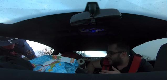 Oregon State Trooper stops tourist in Lamborghini