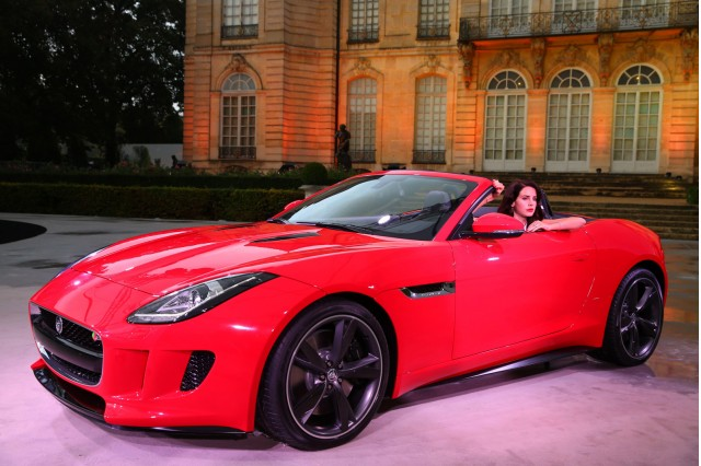 Lana Del Rey and the 2014 Jaguar F-Type