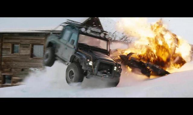2014 LAND ROVER DEFENDER SVX 'SPECTRE' 4X4 UTILITY