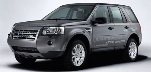 Land Rover presents ERAD diesel-hybrid prototypes