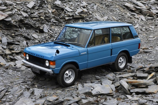 Land Rover Range Rover Classic with Land Rover Heritage parts