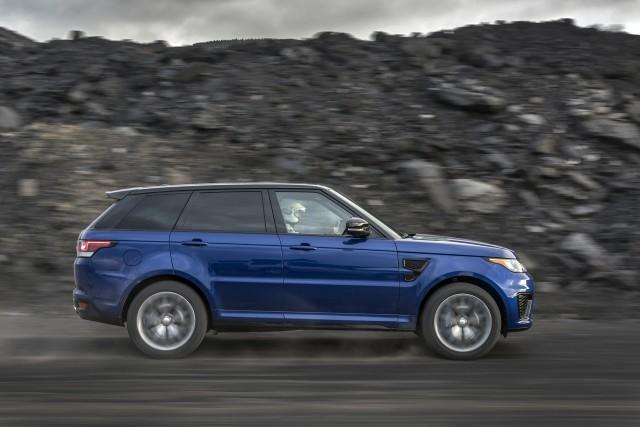 Land Rover Range Rover Sport 0-60 mph testing