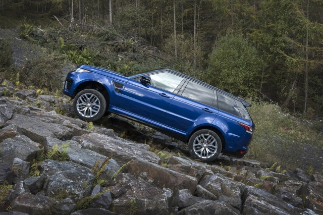 Land Rover Range Rover Sport 0-60 mph testing