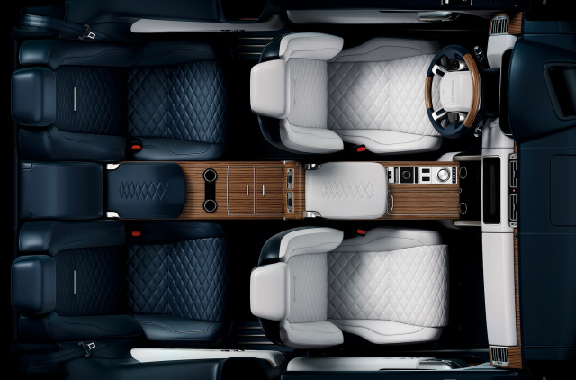 Ranger Rover SV Coupe teaser previews super-luxe SUV