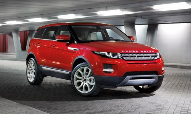 2012 Range Rover Evoque Five-Door