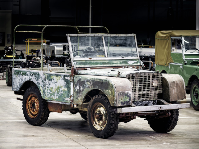 Land Rover to restore 1948 pre-production model