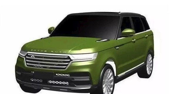 Zotye T800 is a clone of the Range Rover Sport