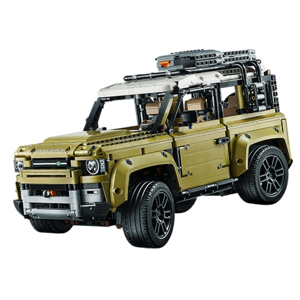 Leaked Lego Technic kit may show 2021 Land Rover Defender