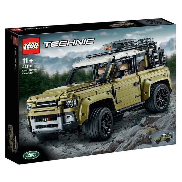 Potential 2021 Land Rover Defender Lego kit leak