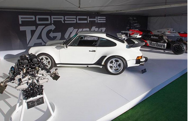 Lanzante 930 Porsche 911 powered by Tag Turbo Formula 1 engine