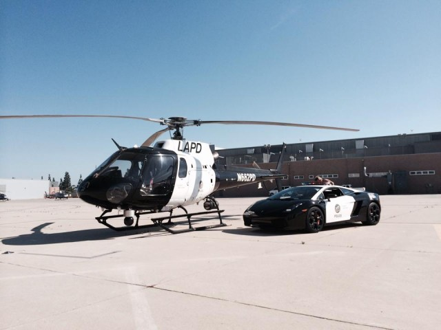 LAPD adds Lamborghini Gallardo to its fleet