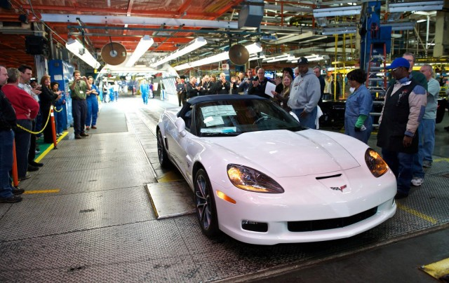 Last C Chevrolet Corvette Rolls Off The Line - Car show kentucky