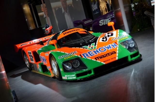 Le Mans 24 Hours exhibit at the 2014 Geneva Motor Show