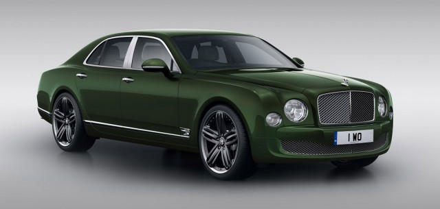 Le Mans Limited Edition 2013 Bentley Mulsanne