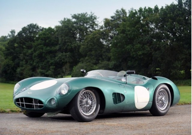 Le Mans-winning Aston Martin DBR1/2. Photo via Talacrest.