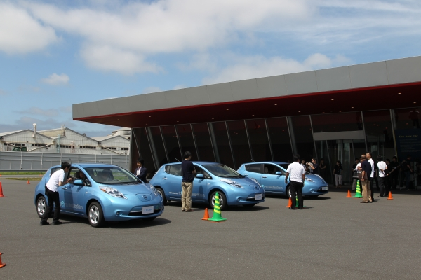 Taken at the June 15 Leaf Driving event in Japan.