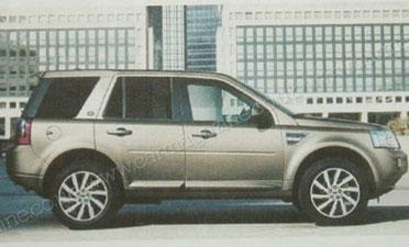 Leaked: 2011 Land Rover LR2