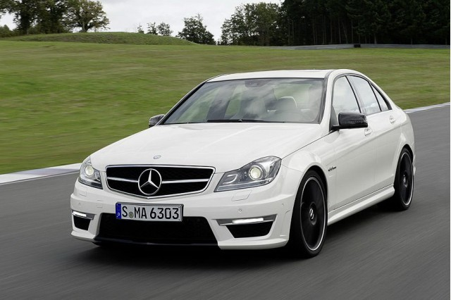Leaked 2012 Mercedes-Benz C63 AMG photos
