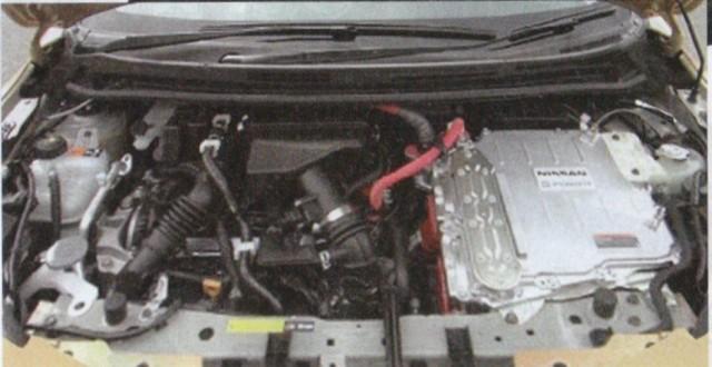 Leaked image of Nissan Note e-Power hybrid (Japanese market version) published on Liveblog site