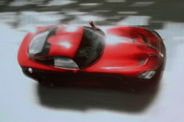 Leaked screencaps of the 2013 Dodge SRT Viper. Image via InsideLine.