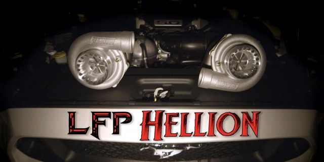 Lebanon Ford Performance Hellion twin-turbo upgrade for the Mustang GT