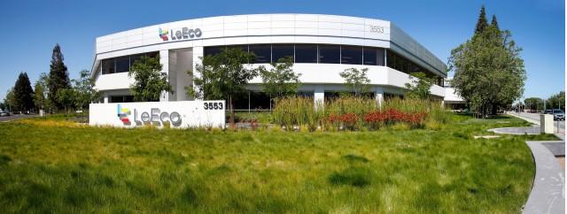 LeEco's U.S. headquarters in San Jose, California