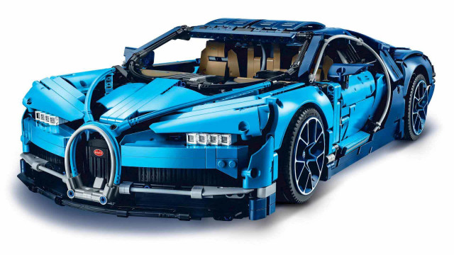 Lego Technic Bugatti Chiron Revealed With 3 599 Pieces Including