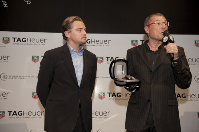 Leonardo DiCaprio at Odyssey of Pioneers launch