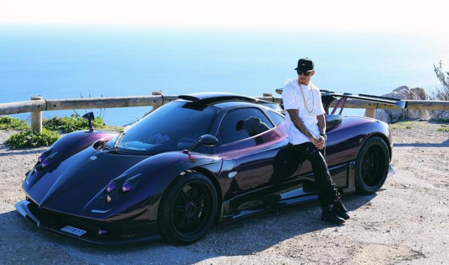 Lewis Hamilton and his Pagani Zonda 760 LH