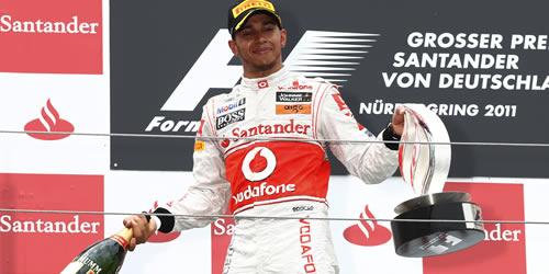 Lewis Hamilton at German Grand Prix