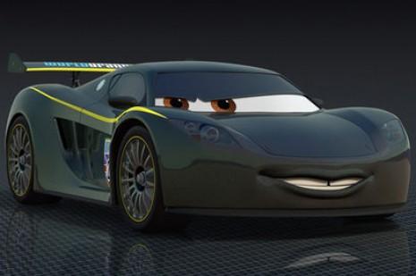 Lewis Hamilton Making Cameo As Mclaren Mp4 12c In Cars 2 Movie