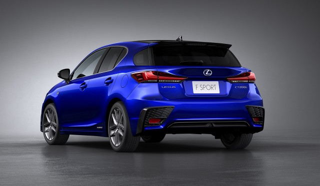 Lexus F Sport >> Lexus CT 200h updated, but discontinued in US