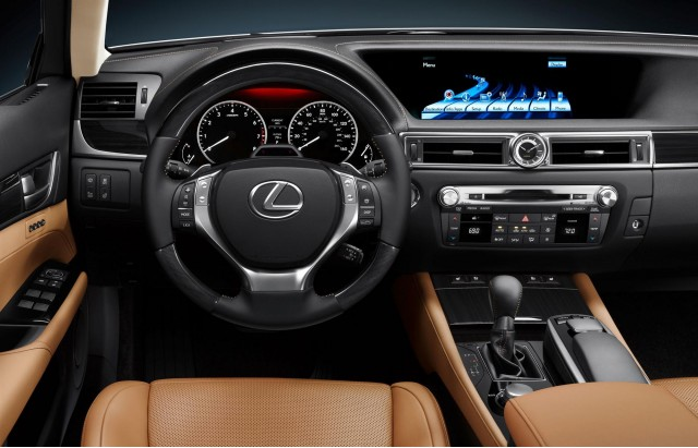 view front cars trend first motor sport test gs f lexus in