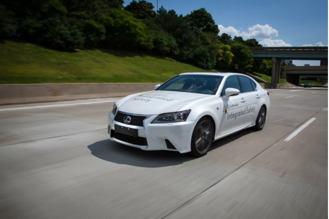 Lexus GS at Toyota Advanced Safety Seminar