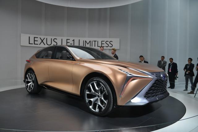 Lexus LF-1 Limitless, 2018 Detroit auto show