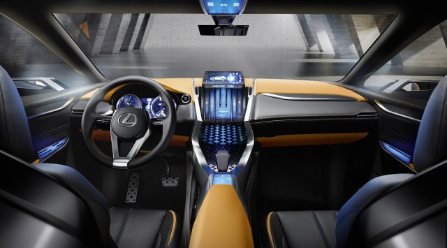 Lexus LF-NX concept, 2013 Frankfurt Auto Show
