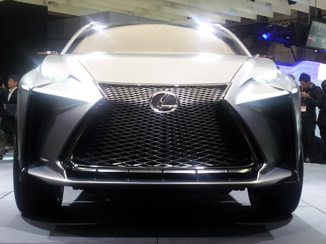 Lexus Lf Nx Turbo Advanced Crossover Concept 2017 Tokyo Motor Show