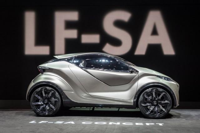 Lexus LF-SA concept, 2015 Geneva Motor Show